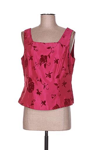 steilmann chemises femme de couleur rose