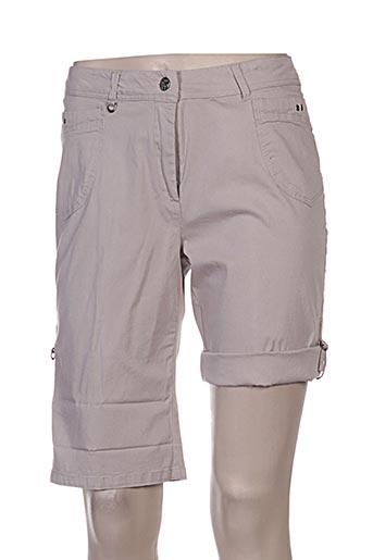jac jac shorts / bermudas femme de couleur marron