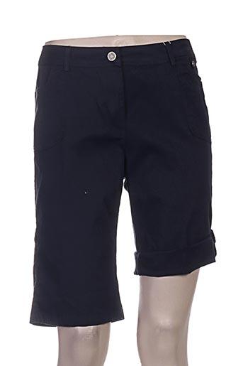 agathe EFFI_CHAR_1 louise shorts / bermudas femme de couleur bleu