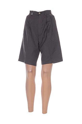 leone shorts / bermudas femme de couleur gris