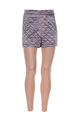 differentiel shorts / bermudas femme de couleur gris