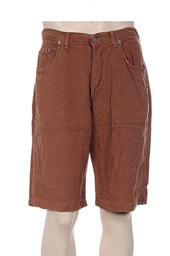 et vous shorts / bermudas homme de couleur marron