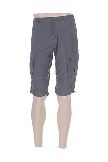 icepeak shorts / bermudas homme de couleur gris