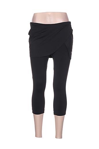 li-ning pantalons femme de couleur noir