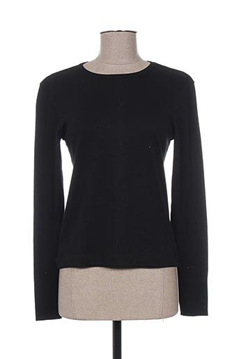 20/20 t-shirts femme de couleur noir