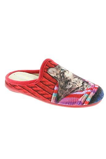patrizia chaussures fille de couleur rouge