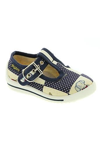 bellamy chaussures enfant de couleur bleu