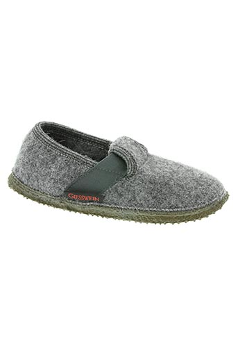 giesswein chaussures enfant de couleur gris
