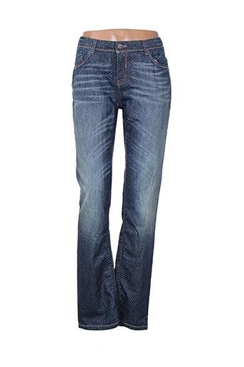 chipie jeans femme de couleur bleu