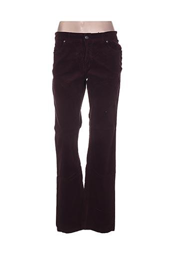 image pantalons femme de couleur violet