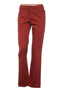 Pantalon casual orange D.T.C pour femme