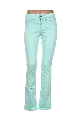 l'histoire de louise pantalons femme de couleur vert
