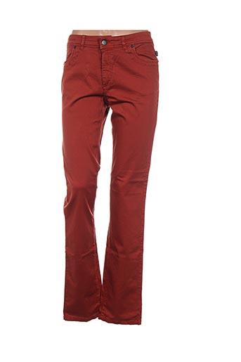 Pantalon casual orange D.T.C pour femme