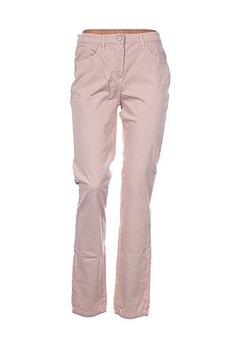 Pantalon casual rose D'AUVRY pour femme