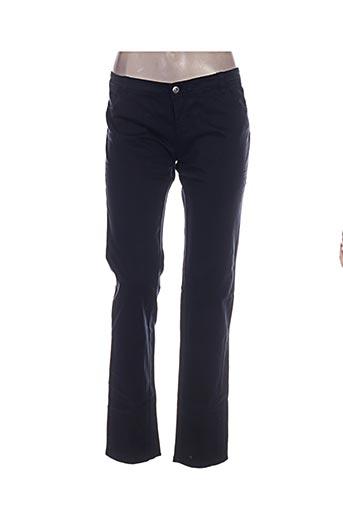 Pantalon casual bleu BIRGINI pour femme