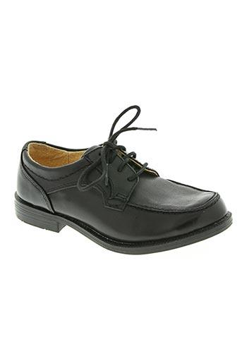 andre chaussures garçon de couleur noir