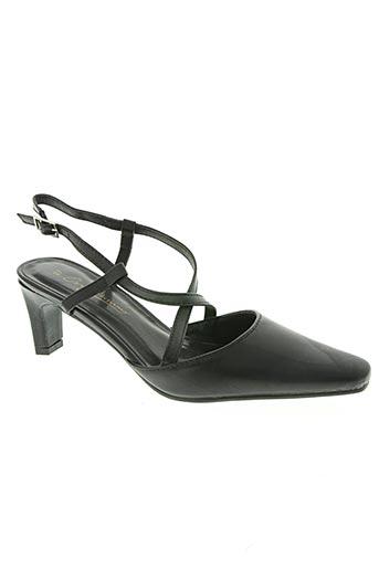 confortissimo chaussures femme de couleur noir