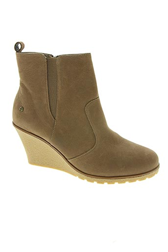 Bottines/Boots marron IXOO pour femme