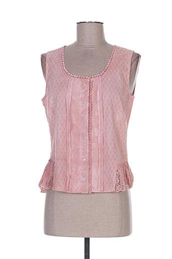 enjoy chemises femme de couleur rose