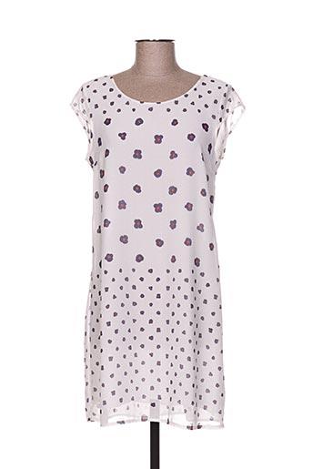 miss miss robes femme de couleur blanc