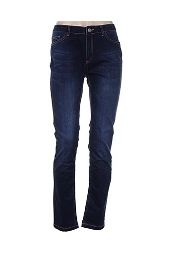 voodoo jeans femme de couleur bleu