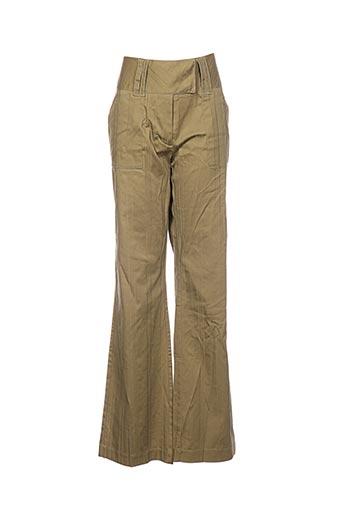 blancheporte pantalons femme de couleur vert