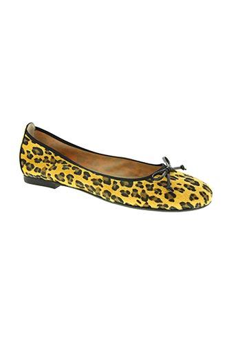 d'chicas chaussures femme de couleur jaune