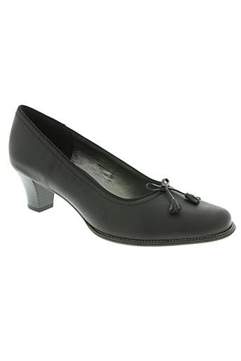 elantine chaussures femme de couleur noir