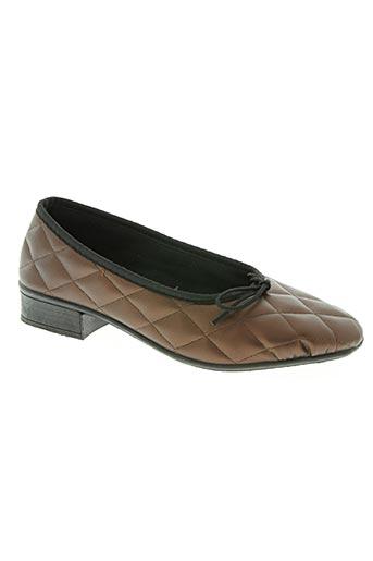 la maison de l'espadrille chaussures femme de couleur marron