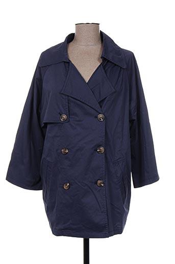 molly bracken manteaux femme de couleur bleu