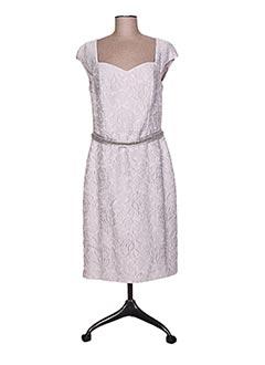 Robe mi-longue gris LINEA RAFFAELLI pour femme