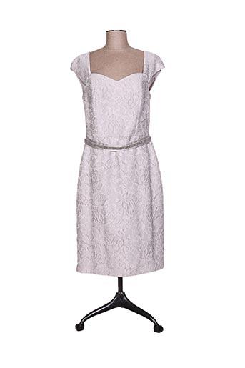 linea raffaelli robes femme de couleur gris