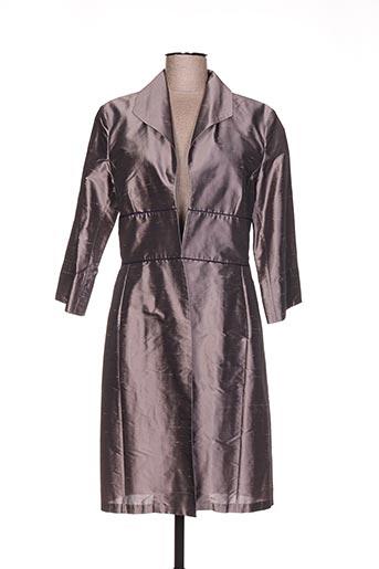 linea raffaelli vestes femme de couleur gris