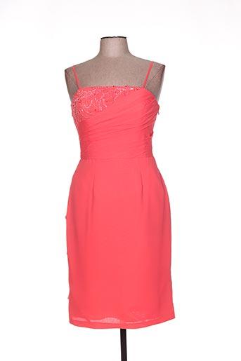 Robe courte orange LINEA RAFFAELLI pour femme