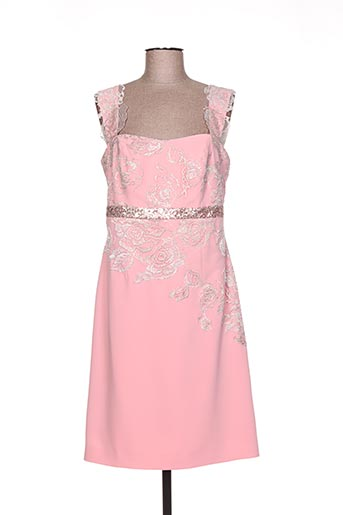 Robe courte rose LINEA RAFFAELLI pour femme