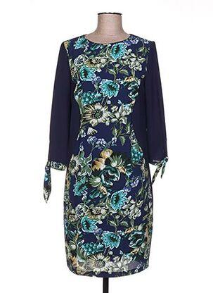 Robe courte bleu FARUK pour femme