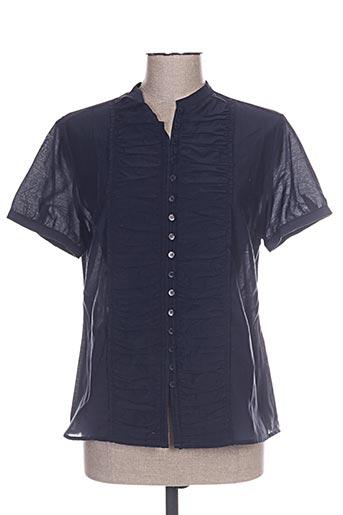 j & w chemises femme de couleur bleu