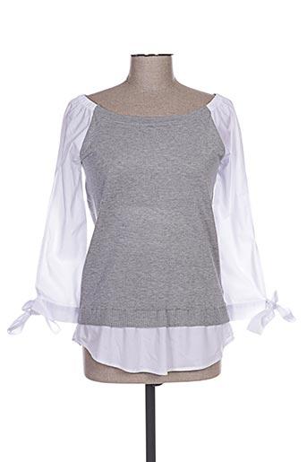exquiss's chemises femme de couleur gris