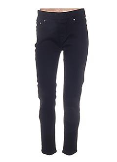 Pantalon casual noir H&U pour femme