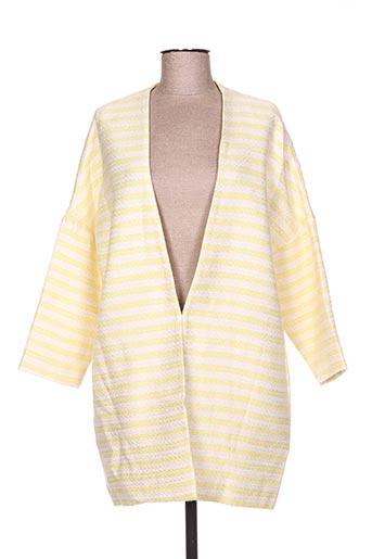 lucy & co vestes femme de couleur jaune