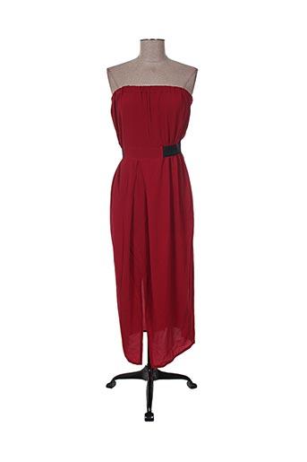 jane wood robes femme de couleur rouge