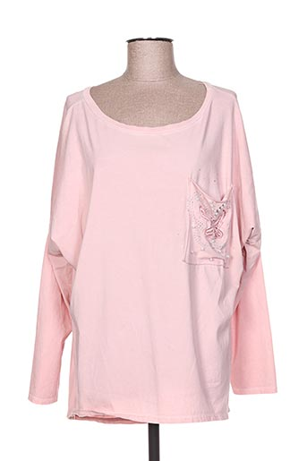 free for humanity t-shirts femme de couleur rose
