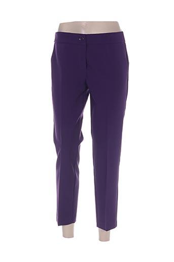 edas pantacourts femme de couleur violet