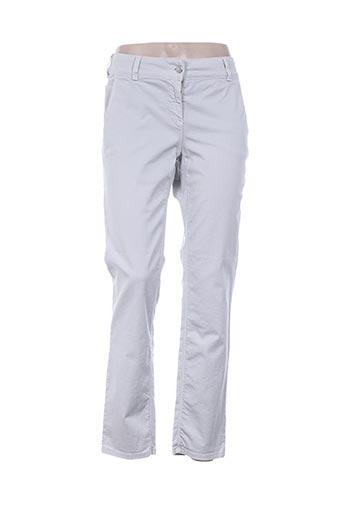 met pantalons femme de couleur gris