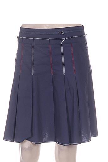 poupee chic jupes femme de couleur bleu