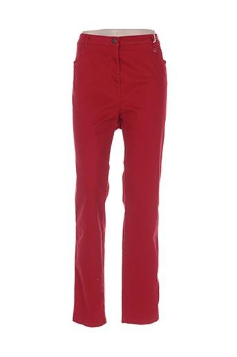 toni dress jeans femme de couleur rouge