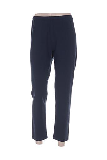 no secret pantalons femme de couleur bleu