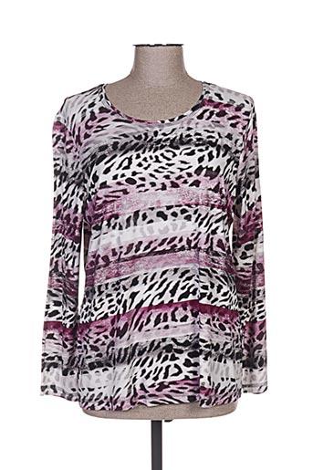 erfo t-shirts femme de couleur violet