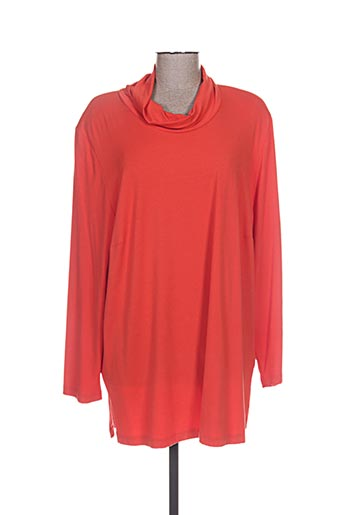 chalou t-shirts femme de couleur orange