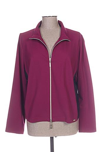 q'neel vestes femme de couleur violet